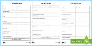 Writing Descriptions Templates by Big Bad Wolf Description Writing Template Big Bad Wolf