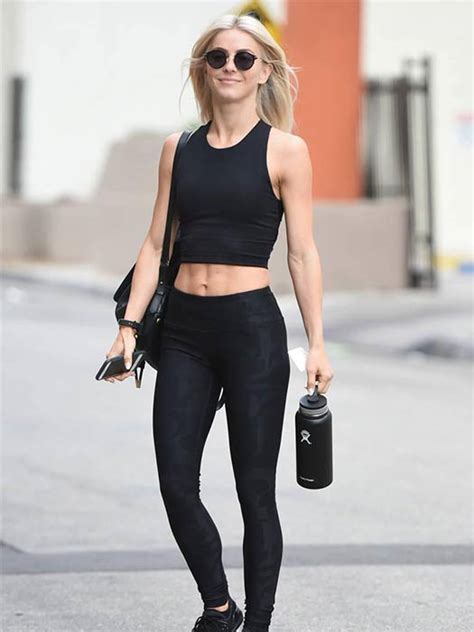 actress julianne hough returns to her hotel beauty julianne hough heads back to the gym after indulging