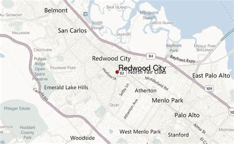california map redwood city redwood city location guide