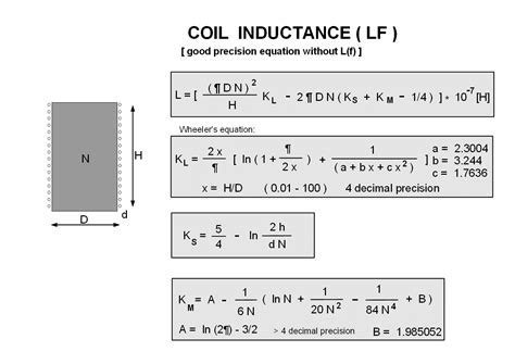 inductance calculator air formula inductance of a coil 28 images tuning coil construction high selectivity radios