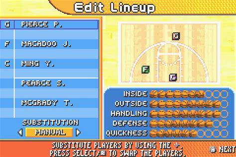 backyard basketball 2007 basketball scores