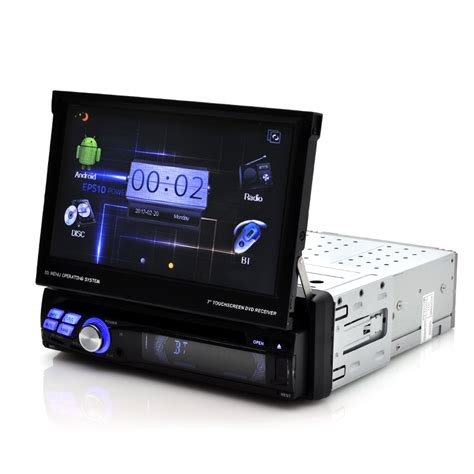 narcissist 1 din 7 inch android car dvd player gps 3g wifi bluetooth dvb t tve c214 - Android Dvd Player