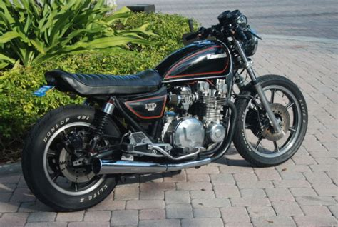 Vintage Kawasaki by Kawasaki Kz 1000 Ltd Cafe Racer Restored Vintage Classic