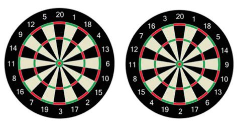pattern dartboard numbers how is the numbering plan on a dart board devised quora