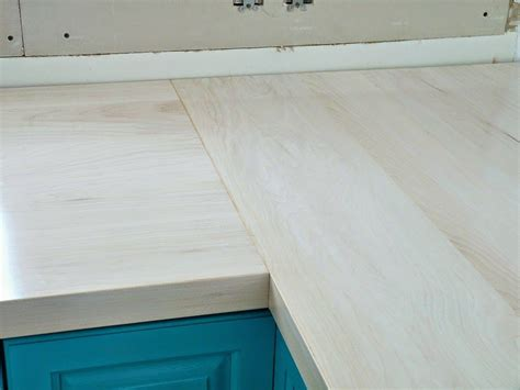 Build Kitchen Countertop Diy Wood Countertops Tutorial Thorough Build This
