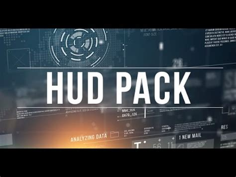 Broadcast Hud Pack After Effects Template Youtube Broadcast After Effects Template