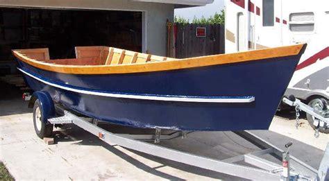 dory powerboat secret power dory boat plans tyus