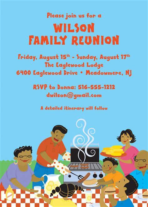free printable family reunion invitations family reunion
