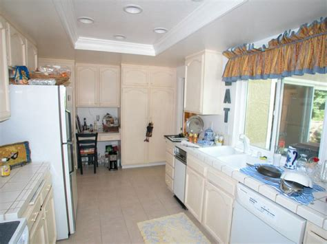 galley kitchen makeovers before and after before and after galley kitchen remodels hgtv
