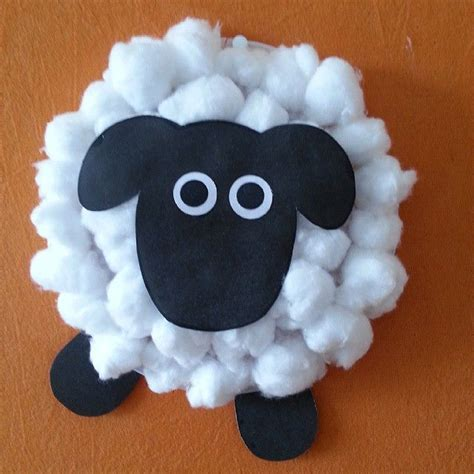 cotton craft for cotton sheep craft vbs barnyard 2017