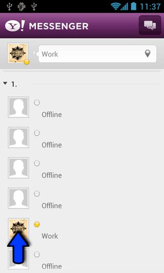 yahoo messenger in for android utilizare yahoo messenger pentru android