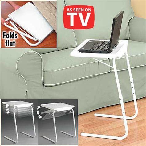 table mate as seen on tv white folding foldable portable mate tv dinner laptop tray