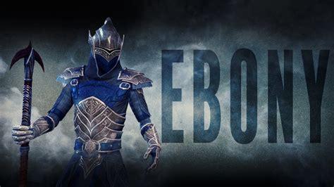 ebony light armor eso eso ebony motif armor weapon showcase of ebony style