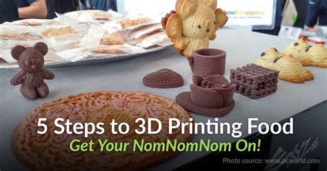 Your 5 Step Guide To Traditional Foods by 5 Step Beginners Guide To 3d Printing Food
