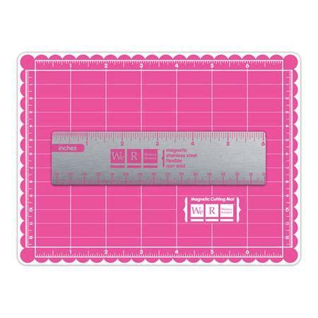 mini magnetic mat ruler