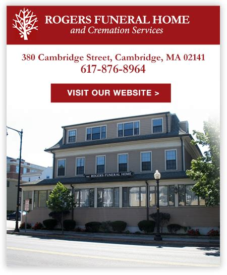 rogers funeral home cremation services cambridge ma
