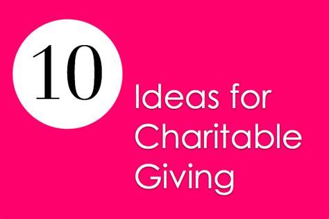 Charitable Gift Ideas - resource list charitable gift giving guide melanie