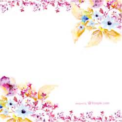 Vectors Flower - watercolor flowers vector art