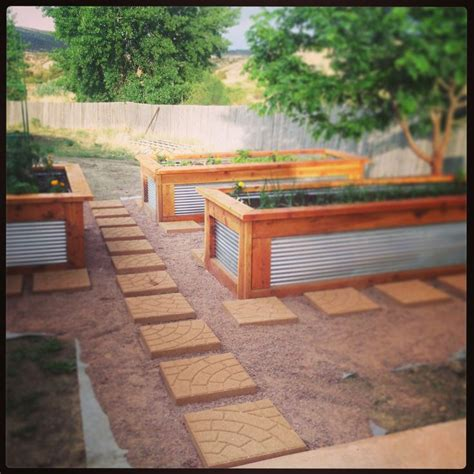galvanized raised garden bed galvanized livestock watering troughs are a great option