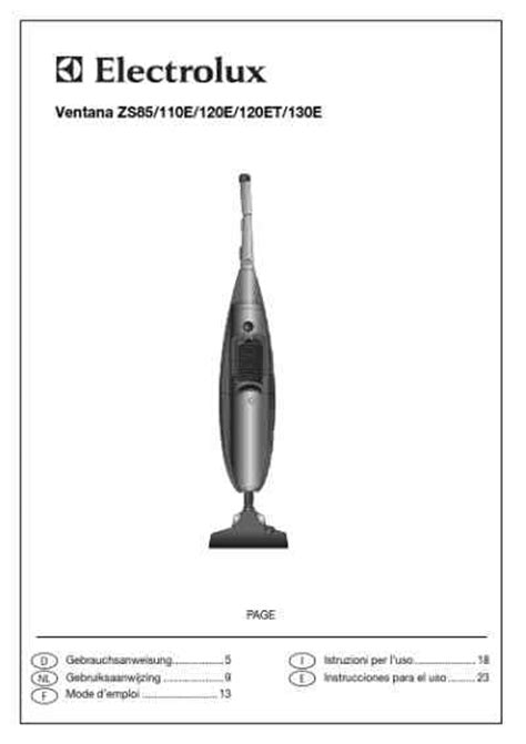 Vacuum Cleaner Electrolux Zs 301 electrolux zs130e vacuum cleaner manual for free