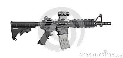 ar 15 cqbr carbine stock photography image: 31942902