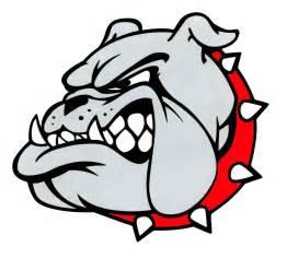 Bulldogs logo quot bulldogs quot quot red black quot