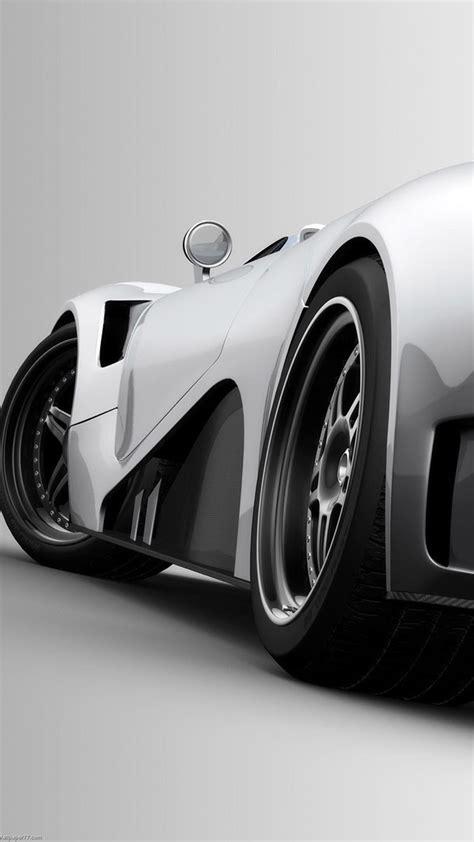 black  white super sport car android wallpaper