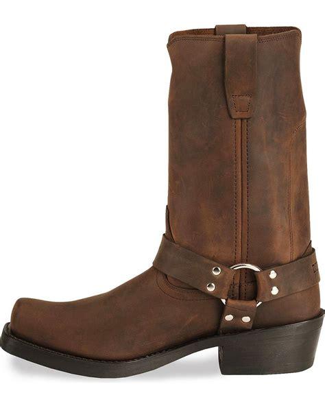 mens harness boot durango s harness cowboy boot square toe db594 ebay