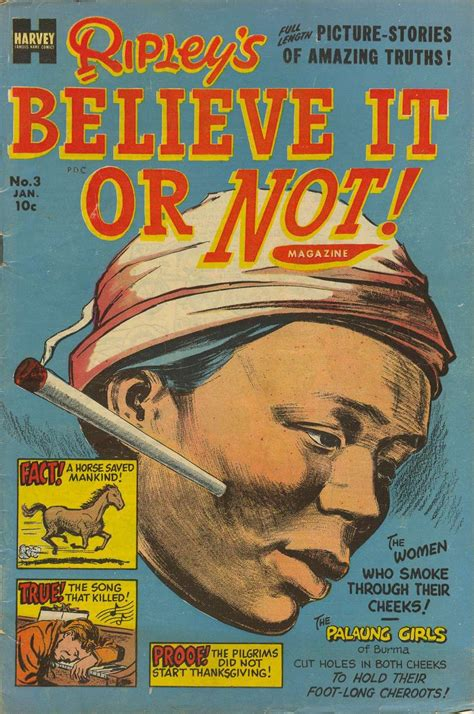 believe books ripley s believe it or not magazine 3 harvey comics