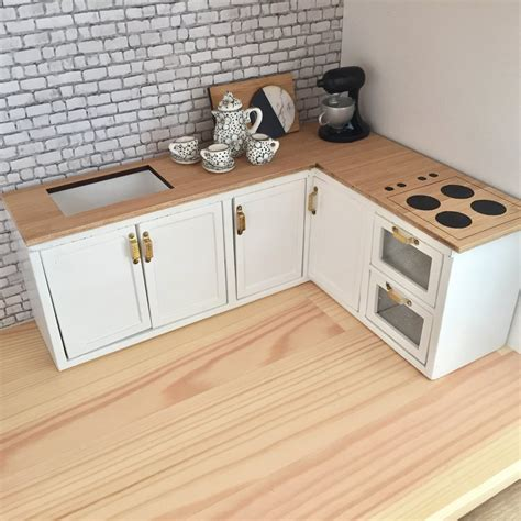 dolls house kitchen furniture diy dollhouse furniture has really evolved the years