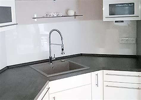 Rückwand Küche Kunststoff by R 252 Ckwand K 252 Che Milchglas