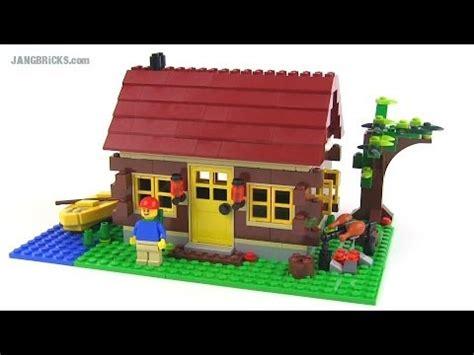 lego log cabin lego creator 5766 log cabin 3 in 1 set review