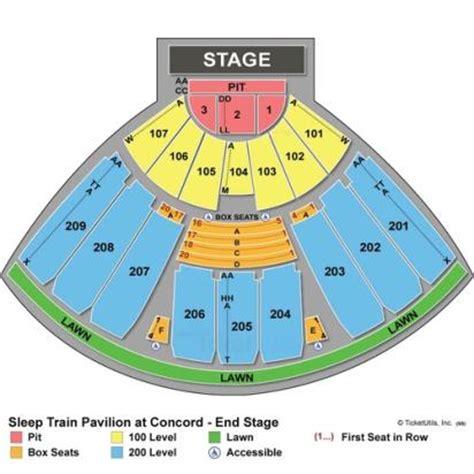 fraze pavilion seating chart vipseats concord pavilion tickets