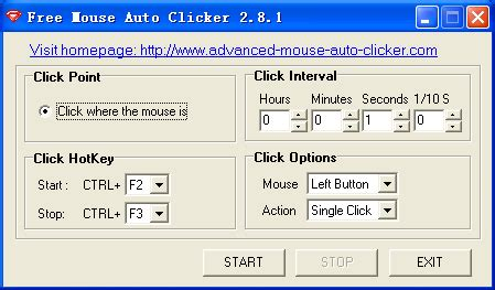 Auto Clicker Download by Free Mouse Auto Clicker Free Download And Software