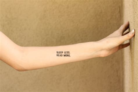 tattoo parlor reading 10 temporary literary tattoos to get your non permanent