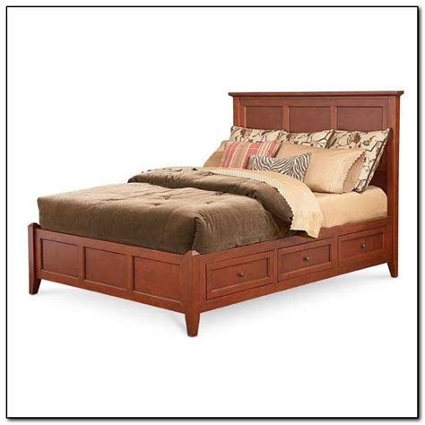 King Bed Frames With Drawers King Platform Bed Frames Selections Homesfeed