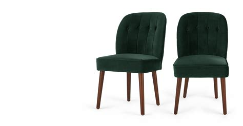Green Velvet Dining Chairs Margot