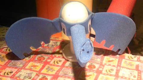 gorro de elefante con goma espuma manualidades infantiles como hacer gorro de elefante de goma espuma youtube