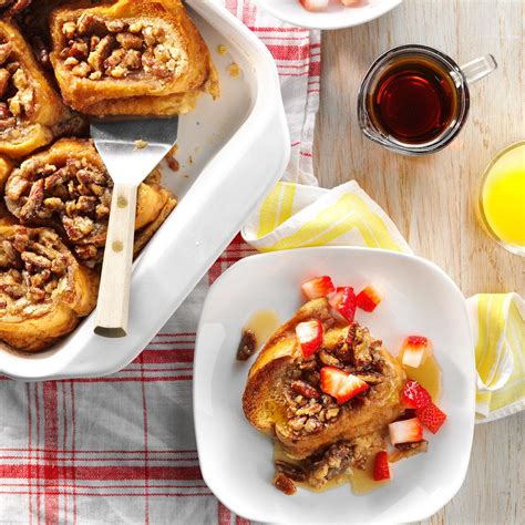 healthy wealthy moms country french decor photo s baked french toast with strawberries recipe taste of home