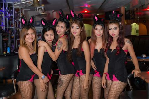 butterfly bar soi  pattaya bunny night