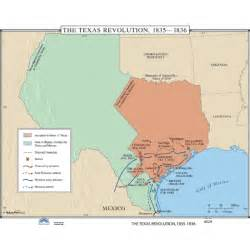 texas revolution map history map 024 the texas revolution 1835 1836