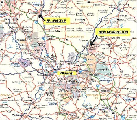 western pa map map of western pa my