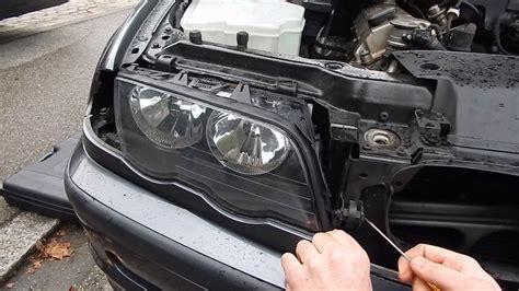 Bmw 1er Cabrio Radio Ausbauen by Bmw E46 Scheinwerfer Ausbauen Tutorial Anleitung Youtube