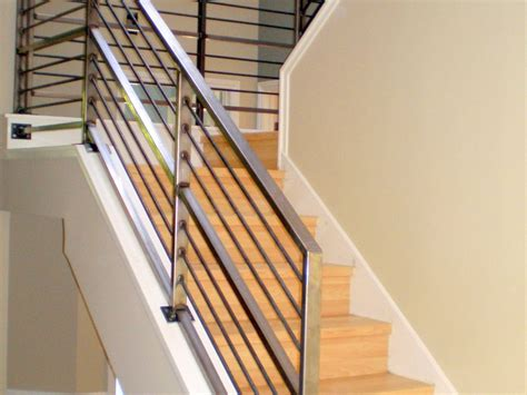 steel banister rails best handrails for concrete steps some reason why choose