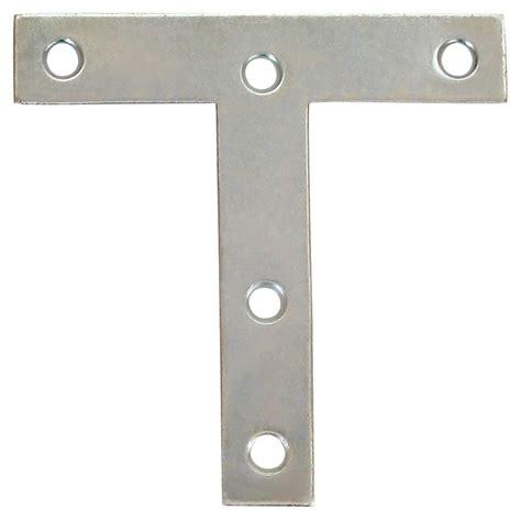 everbilt 4 inch zinc t plate the home depot canada