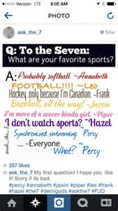 only percy would give an answer like that percy jackson