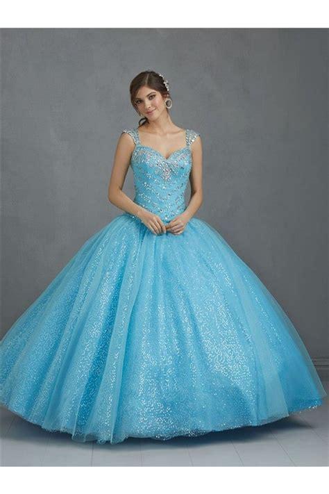 light blue tulle dress ball gown sweetheart light blue tulle sequin glitter