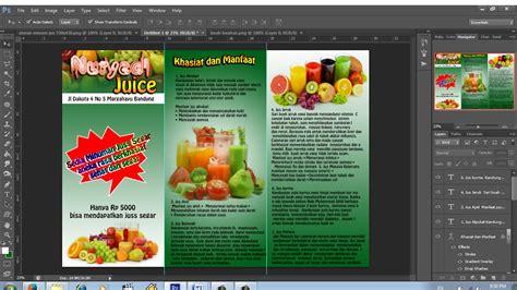 cara membuat desain brosur dengan adobe photoshop youtube cara membuat brosur rumah dengan photoshop cara membuat