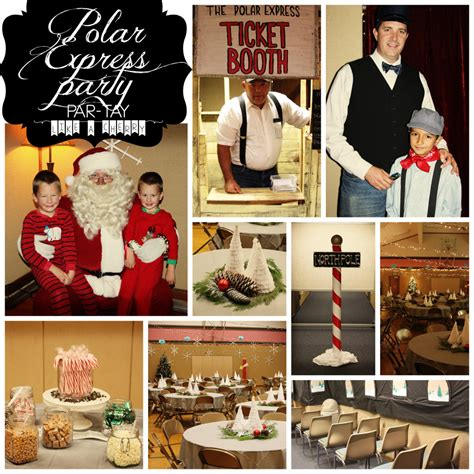 polar express party the whole shibang party like a cherry