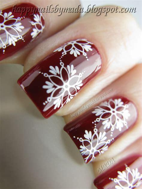 Nails B17 happy nails nail snowflakes